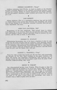 """The Cypress Knee, 1940, """"The Consensus"""" (continued), George Salisbury, Sam Sheriff, John Paul Souther, George W. Stanley, Barney L. Trapnell, Henry W. Wright, pg. 56"""