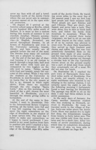 """The Cypress Knee, 1940, """"A Georgia Forester in Scandinavia"""" (continued), Harold Hays, pg. 40"""