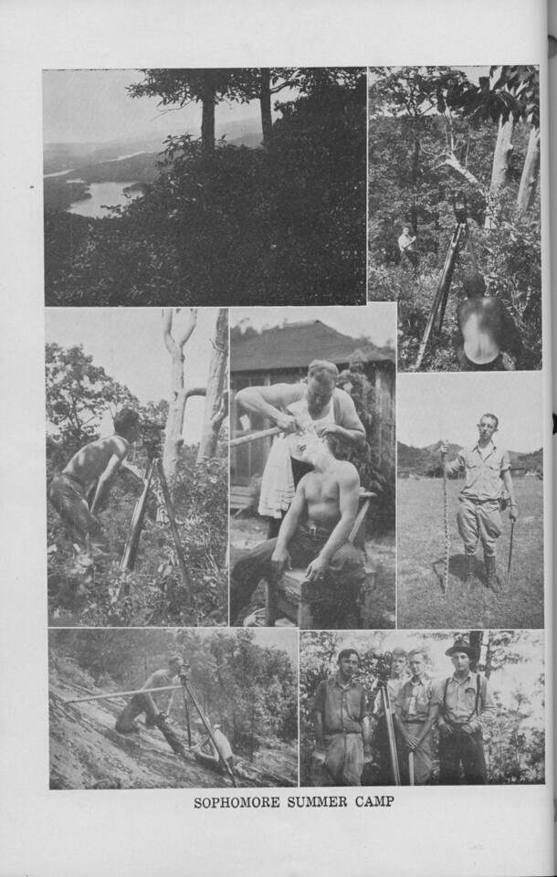 The Cypress Knee, 1940, Sophomore Summer Camp Collage, pg. 26