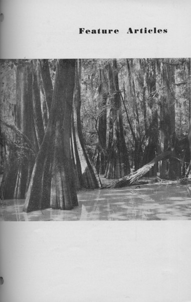 The Cypress Knee, 1940, Introduction to Feature Articles, pg. 33