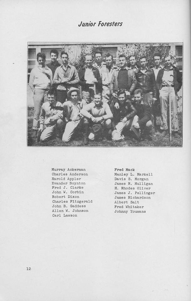 The Cypress Knee, 1942, Junior Class, pg. 12