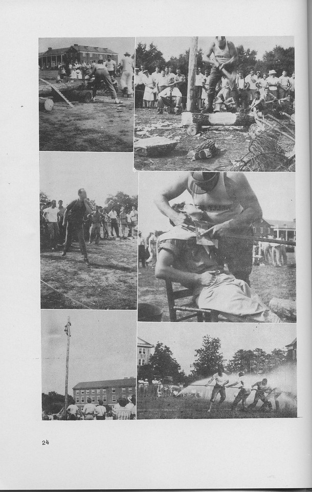 The Cypress Knee, 1942, Forestry Field Day, pg. 24