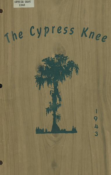 The Cypress Knee, 1943, Front Cover
