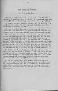 "The Cypress Knee, 1943, ""Your School of Forestry"", D. J. Weddel, pg. 13"