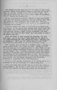 "The Cypress Knee, 1943, ""Senior Fall Camp '42"" (continued), Jack Geddos, pg. 19"