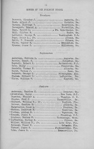 The Cypress Knee, 1943, Roster of the Forestry School, pg. 11