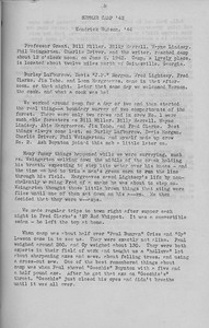 "The Cypress Knee, 1943, ""Summer Camp '42"", Kendrick Hudson, pg. 15"