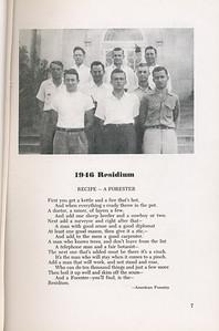 "The Cypress Knee, 1946, ""1946 Residium"", pg. 7"