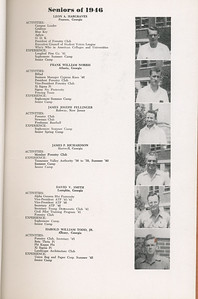 The Cypress Knee, 1946, Seniors, Leon A. Hargraves, Frank William Norris, James Joseph Pellinger, James P. Richardson, David V. Smith, Harold William Todd, pg. 9