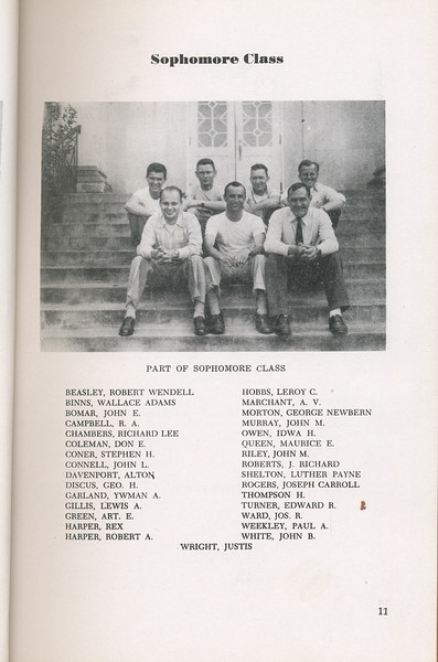 The Cypress Knee, 1946, Sophomore Class, pg. 11