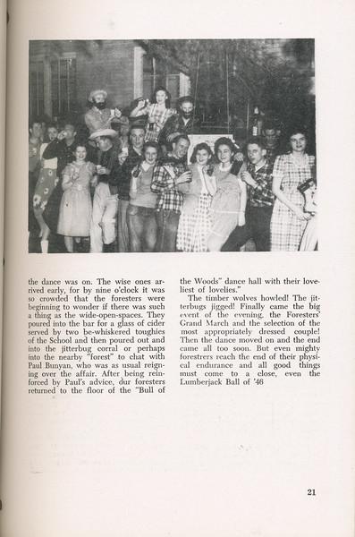 "The Cypress Knee, 1946, ""Lumber Jack Ball"", John Sheffield, pg. 21"
