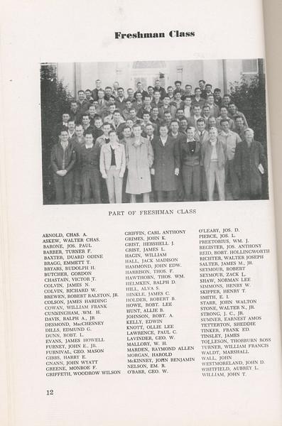 The Cypress Knee, 1946, Freshman Class, pg. 12
