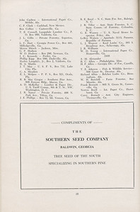 The Cypress Knee, 1947, Alumni Directory, The Southern Seed Company, pg. 35