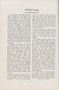 The Cypress Knee, 1947, Senior Camp, Jim Richardson, pg. 15