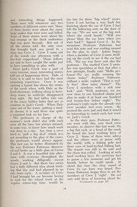 The Cypress Knee, 1947, Sophomore Summer Camp of 1946, Fred Thrash, pg. 18