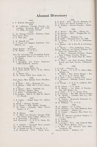 The Cypress Knee, 1947, Alumni Directory, pg. 33