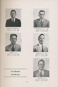 The Cypress Knee, 1947, Graduate Students, Robert Davisson, L. A. Hargreaves, R. D. Dixon, H. L. Morgan, J. G. Fields, pg. 12