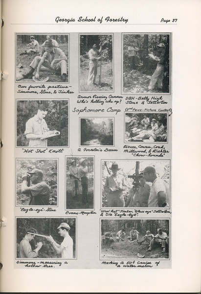 The Cypress Knee, 1948, Photo Collage, pg. 37