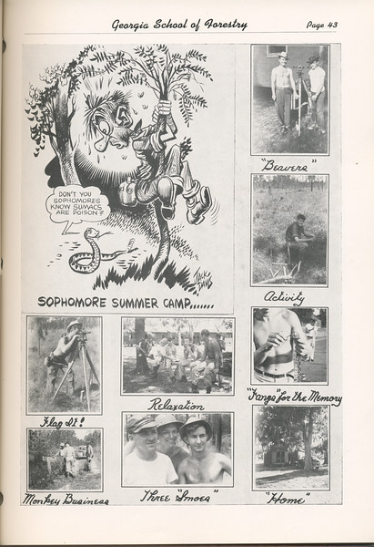 The Cypress Knee, 1949, Sophomore Summer Camp, pg. 43