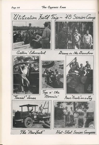 The Cypress Knee, 1949, '48 Senior Camp, pg. 44