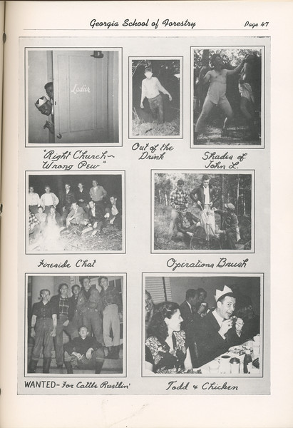 The Cypress Knee, 1949, Photo Collage, pg. 47