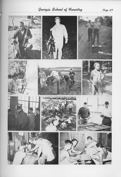 The Cypress Knee, 1950, Photo Collage, pg. 27