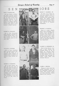 The Cypress Knee, 1950, Seniors, John F. Hargraves, Robert M. Harling, William C. Harper, Robert P. Harrison, Henry P. Harrell, Earnest B. Haskins, Albert H. Hembree, James A. Henson, pg. 17