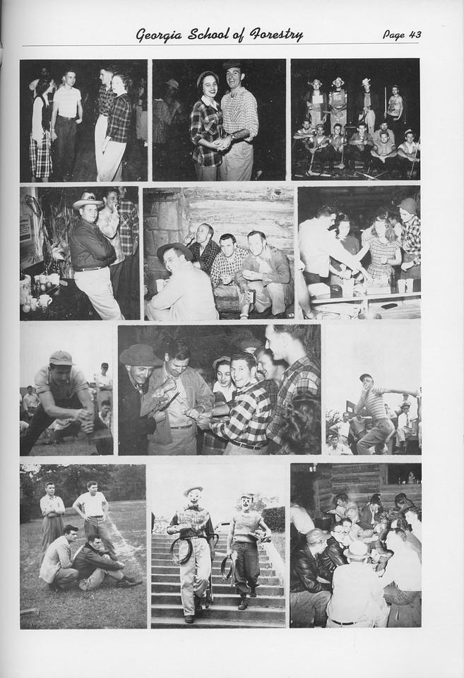 The Cypress Knee, 1950, Lumberjack Ball, pg. 43