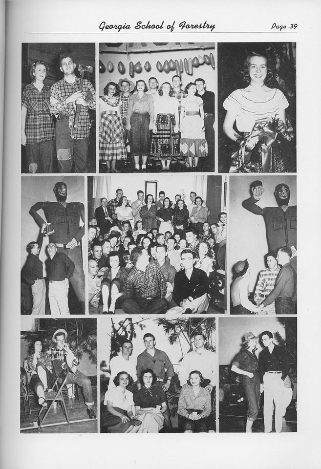 The Cypress Knee, 1950, Lumberjack Ball Collage, pg. 39