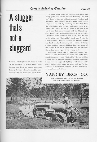 The Cypress Knee, 1951, Yancey Bros. Co., pg. 55