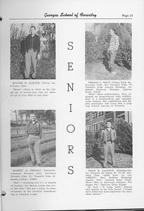 The Cypress Knee, 1952, Rodger W. Harper, Robert E. Heddon, Vernon L. Holt, Noah R. Jackson, pg. 13