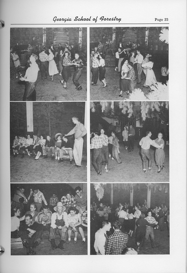 The Cypress Knee, 1952, Photo Collage, pg. 33