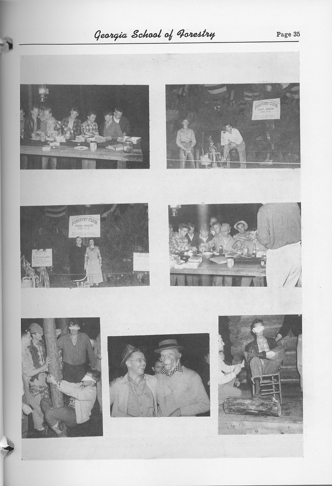 The Cypress Knee, 1952, Photo Collage, pg. 35