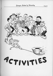 The Cypress Knee, 1954, Introduction to Activities, pg. 21