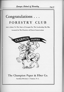 The Cypress Knee, 1954, The Champion Paper and Fiber Co., pg. 47