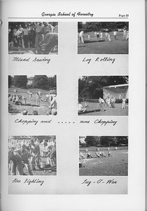 The Cypress Knee, 1954, Field Day Collage, pg. 29