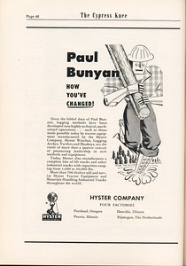 The Cypress Knee, 1955, Hyster Company, pg. 46