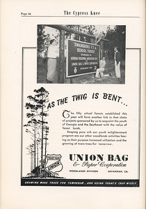 The Cypress Knee, 1955, The Union Bag and Paper Corporation, pg. 44