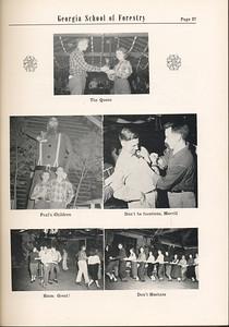 The Cypress Knee, 1955, Lumberjack Ball Photos, pg. 27