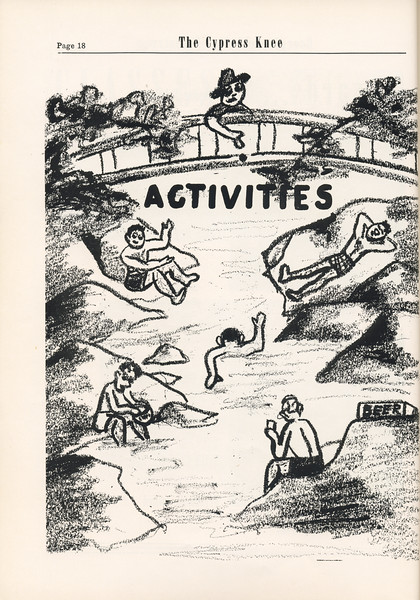 The Cypress Knee, 1955, Introduction to Activities, pg. 18