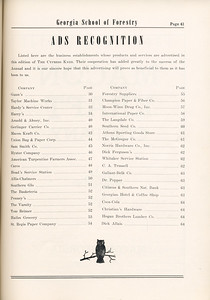 The Cypress Knee, 1955, Ads Recognition, pg. 41