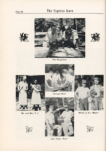 The Cypress Knee, 1955, Photo Collage, pg. 22