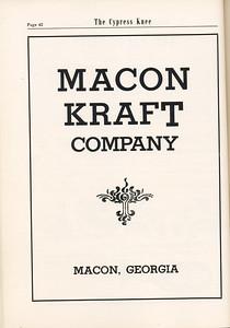 The Cypress Knee, 1955, Macon Kraft Company, pg. 42