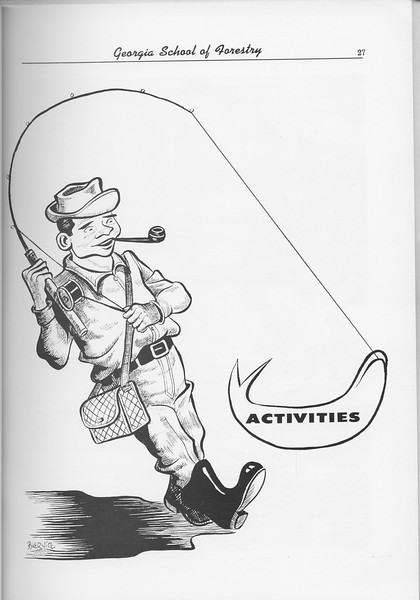 The Cypress Knee, 1956, Introduction to Activities, pg. 27