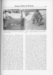 """The Cypress Knee, 1956, """"Where are we HEaded in Wildlife Management?"""", James H. Jenkins, pg. 41"""