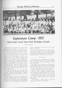 ThThe Cypress Knee, 1956, Sophomore Camp- 1955, pg. 35