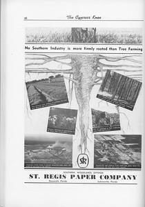 The Cypress Knee, 1956, St. Regis Paper Company, pg. 46