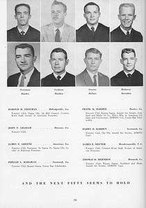 The Cypress Knee, 1957, Seniors, Harold D. Freeman, John P. Graham, James P. Greene, Phillip L. Hadaway, Frank D. Hardee, Harry B. Harden, James E. Hefner, Thomes H. Herndon, pg. 30