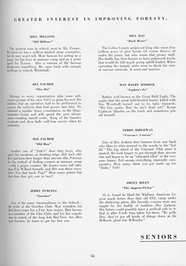 The Cypress Knee, 1957, Seniors, About the Seniors, pg, 35