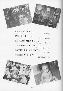 The Cypress Knee, 1957, Activities, pg. 52
